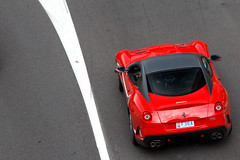 High Above. (Alex Penfold) Tags: auto camera red cars alex sports car sport mobile canon photography eos photo cool flickr track image awesome flash hill picture super f1 ferrari spot monaco exotic photograph spotted hyper gto carlo monte supercar spotting exotica sportscar sportscars supercars penfold 599 spotter 2011 hypercar 60d hypercars alexpenfold