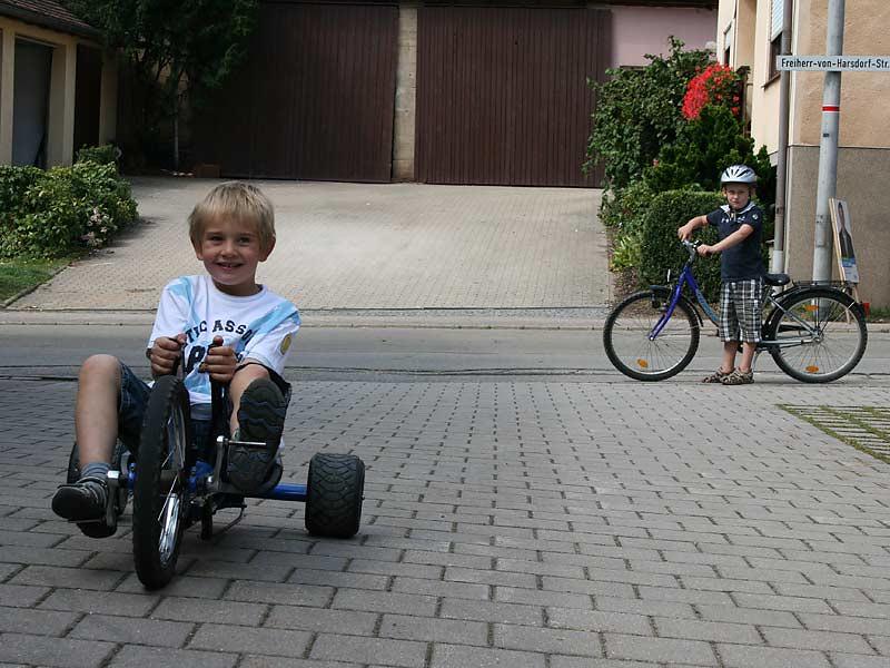 Ferienwohnungen Selz - Kinderfahrzeuge