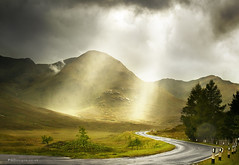Heavenly Highlands - *Explored* (PGDesigns.co.uk) Tags: road light photoshop canon landscape photography drive scotland highlands flickr driving roadtrip heavens tamron mx5 corners twists pgd explored pgdesignscouk philgrayston pgdsigns