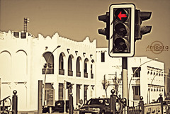 ":    . ""  "".. (    , ) Tags: red cross effect edit doha qatar bronz  qtr    ameera     amoora"