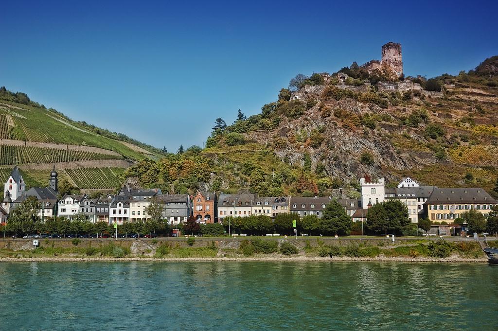 Rhein riverside