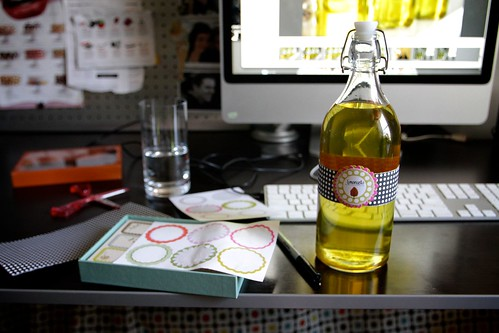 limoncello bottling