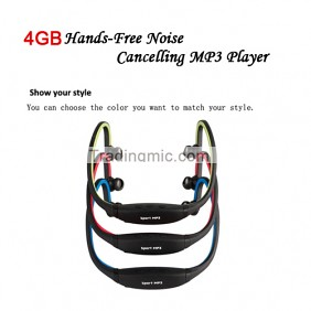4GB Hands-Free Noise Cancelling MP3 Player