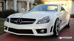 "Mercedes SL65 widebody AMG by Prior Design with Forgiato 20"" Aggio white wheels (Prior Design NA (priordesignusa.com)) Tags: black mercedes european sl bumper german hood series lip carbon aggressive diffuser sporty carbonfiber amg sl65 sl55 widebody splitter bodykit facelift sl500 aerodynamics rearbumper frontbumper tuv sl600 blackwheels blackseries frontlip sl63 sl550 widebodykit sl65blackseries priordesign slwidebody blackmercedessl mercedesslwidebody slfacelift"