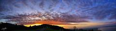 Beautiful Sunset Panorama at The Lake Constance (DaLMaTiNo) Tags: sunset cloud lake alps color clouds landscape geotagged lago harbor colorful europe heaven sonnenuntergang sundown harbour dusk che dmmerung alpen helvetia hafen bodensee landschaft gallen grub constance alpe kste lakeconstance 2011 kanton hafenstadt eggersriet dalmatino landschaftsbild canon50d blinkagain