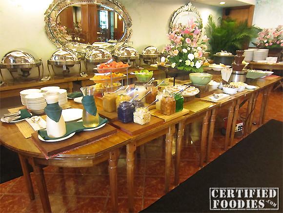 Buffet at Lola Maria's