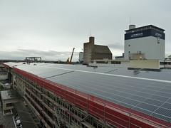 PV auf dem Dach der Rhenus