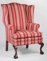 18. Chippendale style Wing Chair