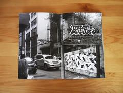 Carnage issue #1 (carnagenyc) Tags: nyc zine newyork brooklyn graffiti carnage bf atak hert nsf dklt carnagenyc