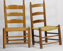 29. Early Southern Primitive Chairs