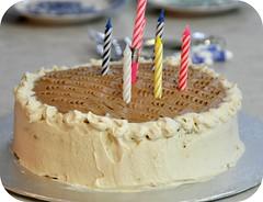 Birthday Cake (Rosina Huber) Tags: birthday family happy candles cut chocolate celebration birthdaycake rum hazelnut kuchen apricotjam