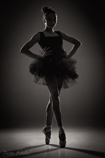 Ballerina in Black III