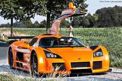 Are you ready? (Keno Zache) Tags: auto orange car sport canon photography eos shoot power apollo 70200 keno sportwagen gumpert flügeltür 400d zache landstrase