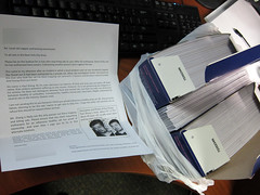 The letters are sent (Jimmy Legs) Tags: nyc cats cat letters tnr feral vets catkiller paulzhang