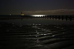 Comfortably Numb (Circa Soundtrack) Tags: ocean pink sea sky moon beach water night canon dark stars key time tide low australian aberdeen midnight floyd banchory the