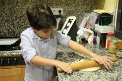 Baking Breadsticks (betty.) Tags:
