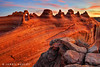 Castles in the Sky (James Neeley) Tags: sunrise landscape arches archesnationalpark hdr delicatearch civiltwilight 5xp jamesneeley flickr23