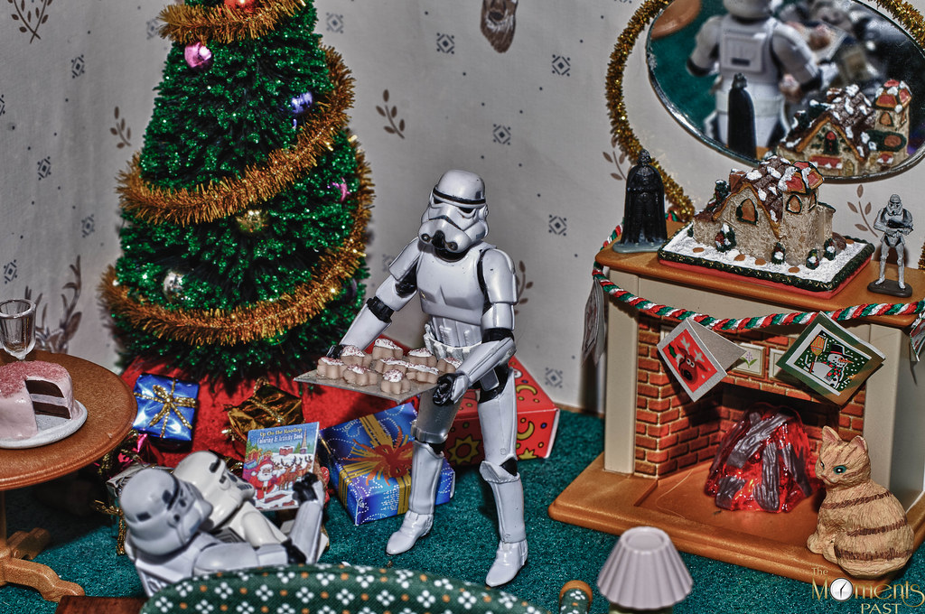 Stormtrooper christmas tree gifts