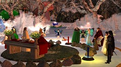 Avilion - Yule ceremony (Osiris LeShelle) Tags: life ceremony medieval fantasy secondlife second yule druids roleplay druidry yuletime avilion