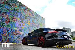 Black_Panemera_028 (SaviniForged) Tags: 22 miami wheels custom savini panamera mccustoms