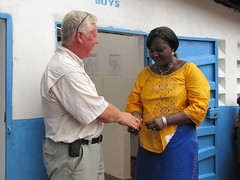 handing over of keys to headmistress