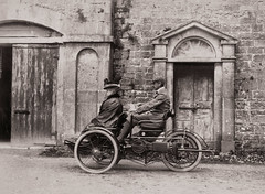What an amazing contraption! (National Library of Ireland on The Commons) Tags: family ireland cute galway hat car ross automobile veil martin tricycle crab doorway cap albums vehicle coventry bighouse waterway connacht connaught motorcar plusfours nationallibraryofireland rosshouse voiturette violetmartin motette lonbolle turrellbolle charlesmcrobieturrell cpdawson colonelcpdawson annaselinafox