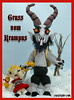 Gruss Vom Krampus (Croshame) Tags: christmas winter black crochet peter krampus schmutzli croshame