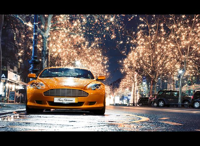 merrychristmas astonmartindb9 merrychristmas2011 weihnachtenberlin astonmartingold