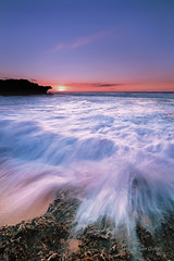 Splash [Explored] (Meljoe San Diego) Tags: sunset seascape nikon philippines pangasinan d300 bolinao leefilter 1024mm meljoesandiego