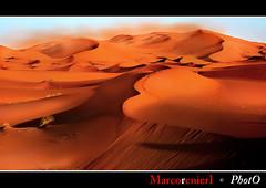 Tramonto sulle dune (marcorenieri) Tags: tramonto colore dune marocco deserto sabbiarossa marcorenieri mygearandme peregrino27worldchanging