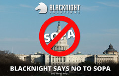 Blacknight Says No to SOPA