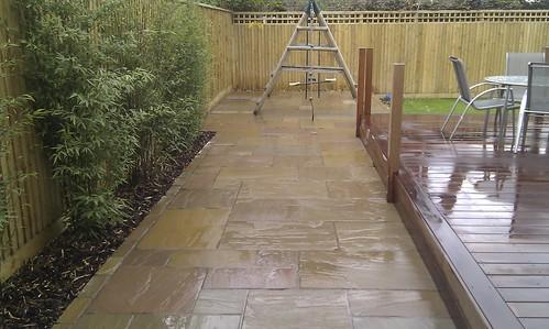 Hardwood Decking Alderley Edge - Modern Family Garden. Image 17