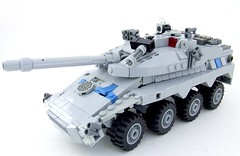 New Britain T2K70 AFV (Shadow Viking) Tags: english tank lego military afv moc newbritain worldinconflict tankdestroyer foitsop t2k70