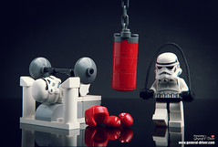 The boxer (storm TK431) Tags: starwars lego stormtrooper boxer deathstar