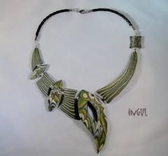 newline1 (Ingul-design) Tags: handmade unique polymerclay fimo kato premo ketten handarbeit unikate