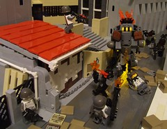 Hunting Golems (Shadow Viking) Tags: france lego golem marseilles antitank moc clb hardsuit worldinconflict jonathanhunter antimaterial coalitionofloyalistbritish