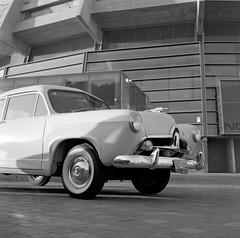 Henry J (Ilya.Bur) Tags: bw white black film car vintage j stand d henry kaiser development ilford fp4 yashica frazer yashinon caffenol 3580mm caffenolcl