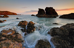 St.ABBS GLOW (Steve Boote..) Tags: sea seascape sunrise dawn coast scotland rocks harbour northsea coastline gitzo borders stabbs berwickshire sigma1020f456exdchsm leefilters canoneos7d southeastscotland steveboote