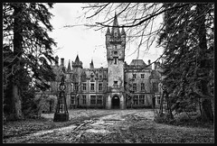 The Abandoned Castle (Explore) (Bert Kaufmann) Tags: castle abandoned beautiful belgium belgique decay empty ardennen ardennes belgi dirty spooky rusting forsaken miranda chateau demolished hdr noisy dinant urbanexploring ruined ghosthouse kasteel namur urbex wallonie namen brokenbuilding verval houyet celles walloni verlaten vervallen ruinedcastle chteaumiranda chteaudenoisy homedenoisy oldorphanarium