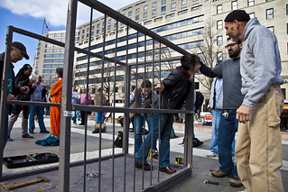 Witness Against Torture: Building a Cell