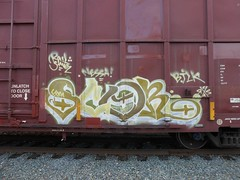 SCOR (md-20/20) Tags: railroad art train graffiti steel rail freight scor