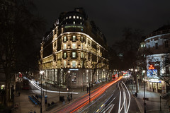 Corinthia Hotel London (Michael O'Sullivan Photography) Tags: bridge london night canon hotel long gettyimages exsposure corinthia corinthiahotellondon