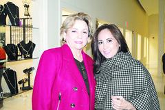 Geraldina Uresti y Miriam Fuentes