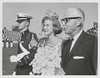 1963 October Verita Korth '67 Queen of Roanoke Harvest Festival and her father Fred Korth Secretary of the Navy Roanoke Times photo
