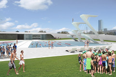 Austin Aquatic Center (Runa Workshop) Tags: park sports austin landscape texas diving pools ymca masterplan sustainability waterquality aquatics competitionpool contemporarydesign biomimicri runaworkshop austinaquaticcenter