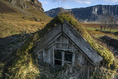 Old Ways (fridgeirsson) Tags: old iceland south hut times turf lmagnpur