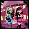Day at the Maul (MarieMako) Tags: doll handmade ooak custom frankiestein monsterhigh draculaura dayatthemaul