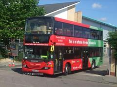 Reading buses 599 YN07LHD (jonathon890) Tags: 599 readingbuses yn07lhd