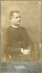 1902. Szatmár. From the family album (elinor04 thanks for 36,000,000+ views!) Tags: family man vintage photo hungary catholic photographer priest 1900s hungarian 1902 cassock szatmár antal scherling scherlingantal vintagefamilyphotocollection elinorsvintagefamilyphotocollection hungariancollection