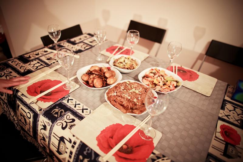Chen Jie home dinner 005
